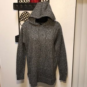 Old Navy Gray V neck sweater hoodie Unisex Size XS